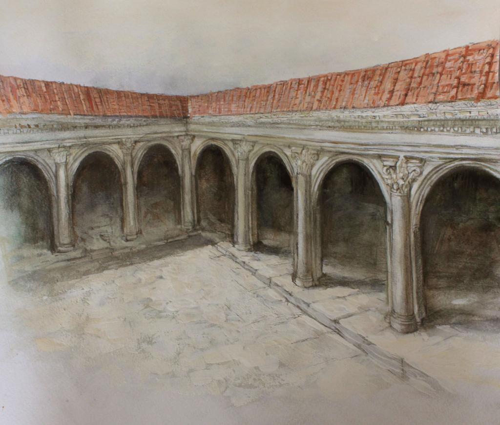 Форумът на римски Пловдив, художествена реконструкция