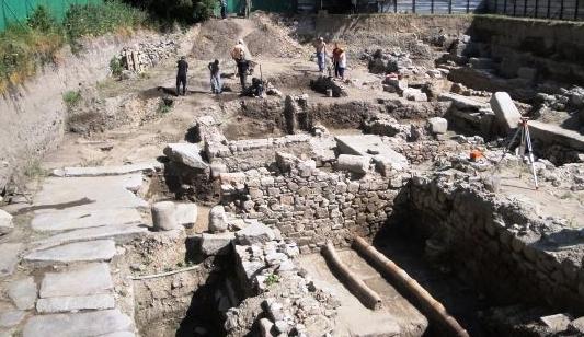 Археологическа находка в центъра на Пловдив