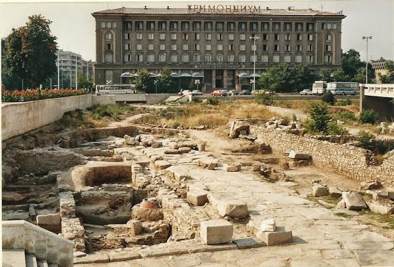 Одеонът бил мястото, където някога заседавал градският съвет на римски Пловдив