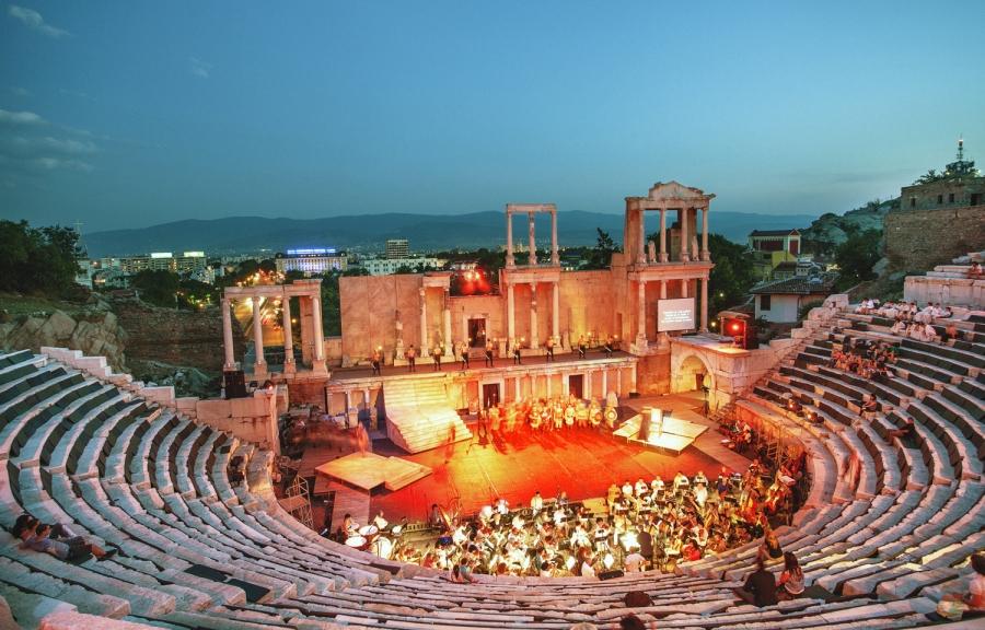 Представление на Римсккия театър в Пловдив