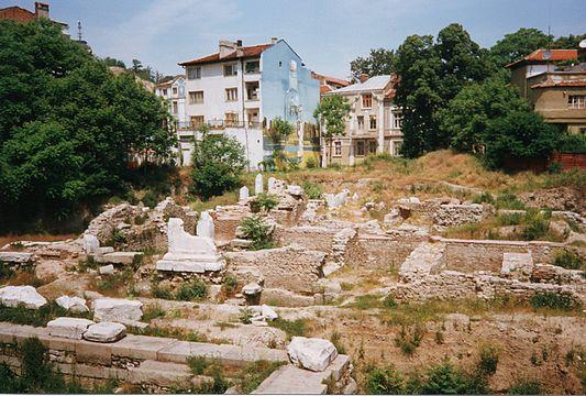 Реставрирани останки от форума и одеона на римски Пловдив