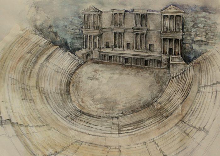 Античния театър в Пловдив