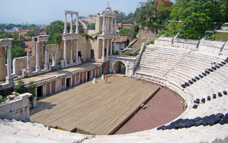 Театърът на римски Пловдив