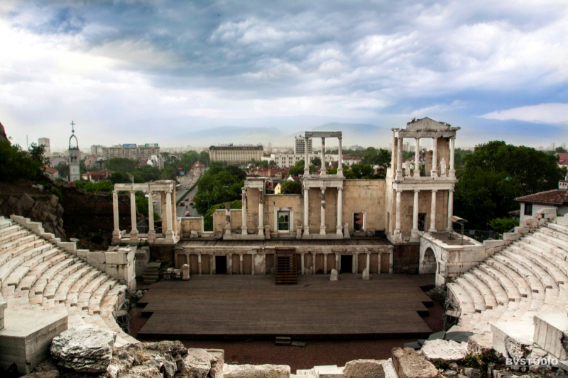 Театърът на римски Пловдив е единственият реставриран античен театър в България