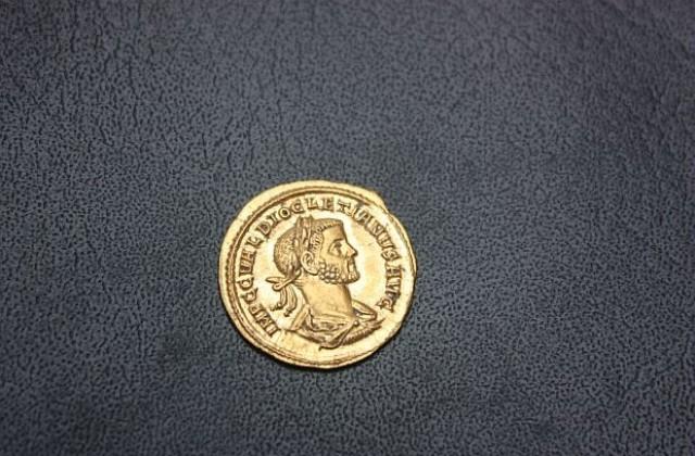 Филипополска монета с портрета на император Елагабал (218-222), Пловдивски Археологически музей